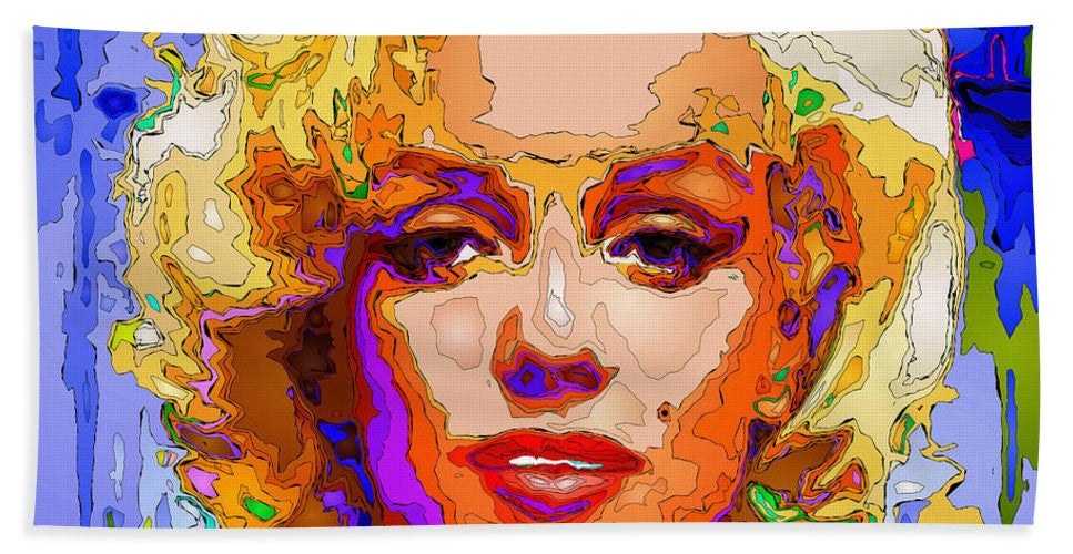 Towel - Marilyn Monroe. Pop Art