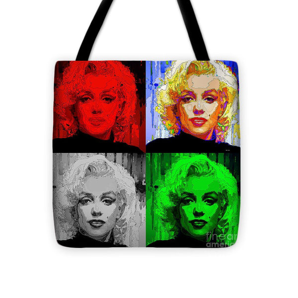 Tote Bag - Marilyn Monroe - Quad. Pop Art