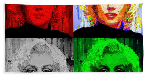 Towel - Marilyn Monroe - Quad. Pop Art