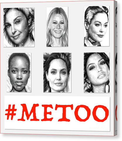 #metoo - Canvas Print