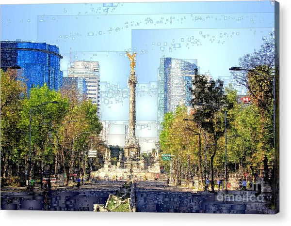 Acrylic Print - Mexico City D.f