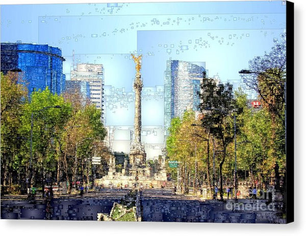 Canvas Print - Mexico City D.f