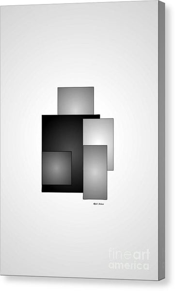 Canvas Print - Minimal Black And White