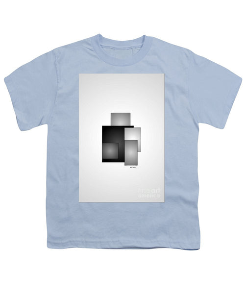 Youth T-Shirt - Minimal Black And White