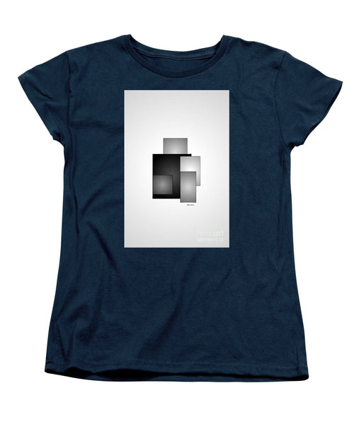 Women's T-Shirt (Standard Cut) - Minimal Black And White