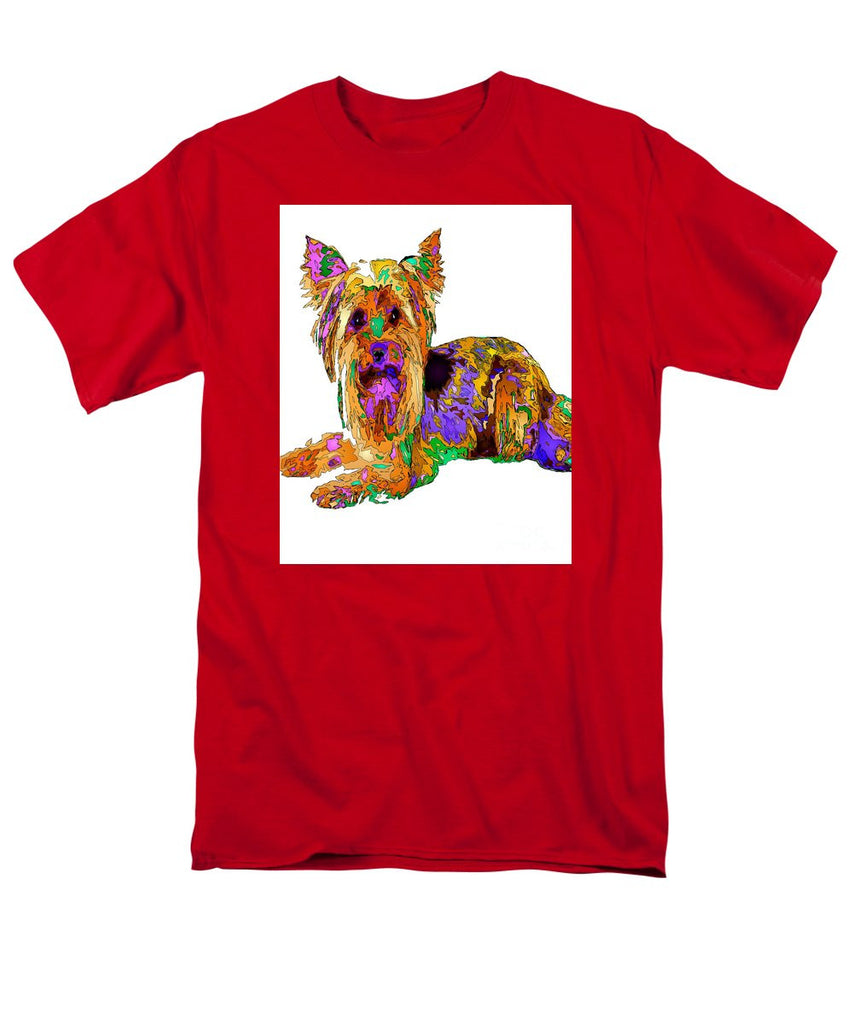 Men's T-Shirt  (Regular Fit) - Minnie We Miss You. Pet Series