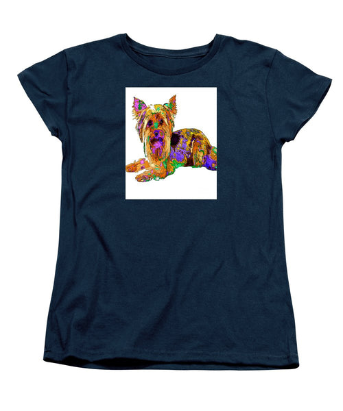 Women's T-Shirt (Standard Cut) - Minnie We Miss You. Pet Series