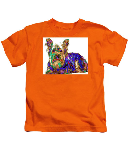 Kids T-Shirt - Muffin. Pet Series