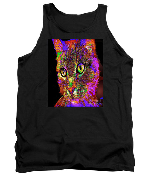 Tank Top - Muffin The Cat. Pet Series