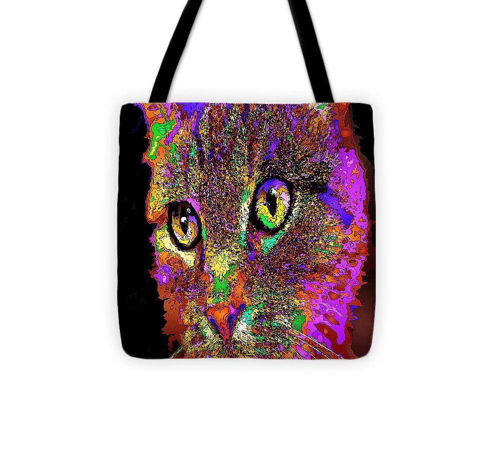 Tote Bag - Muffin The Cat. Pet Series