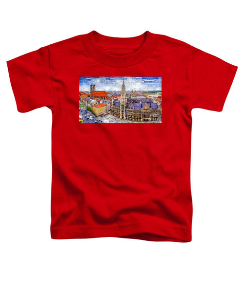 Toddler T-Shirt - Munich Cityscape