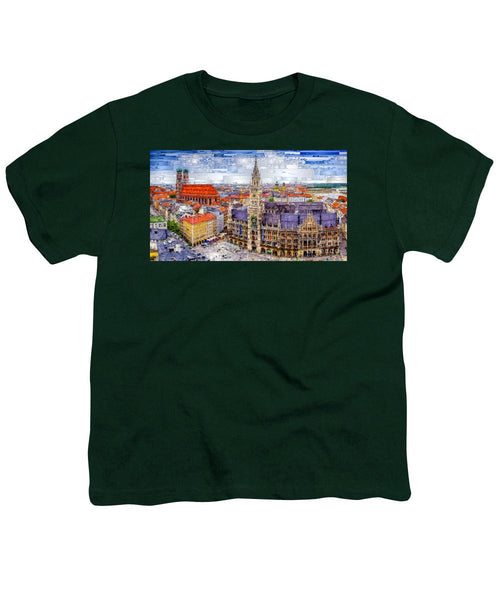 Youth T-Shirt - Munich Cityscape