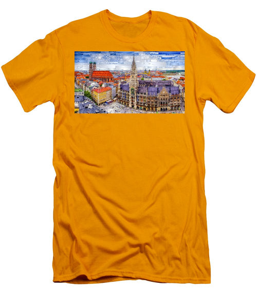 Men's T-Shirt (Slim Fit) - Munich Cityscape
