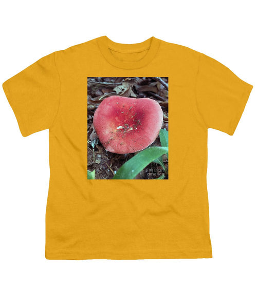 Youth T-Shirt - Mushrooms In The Woods