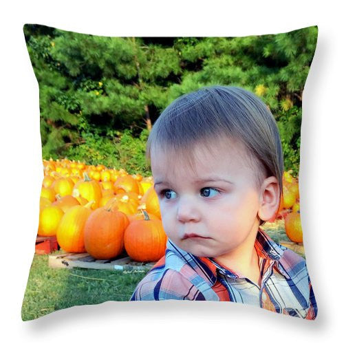 Throw Pillow - My Favorite Time Of The Year