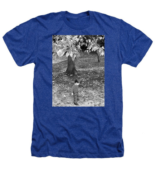Heathers T-Shirt - My First Walk In The Woods - Black And White
