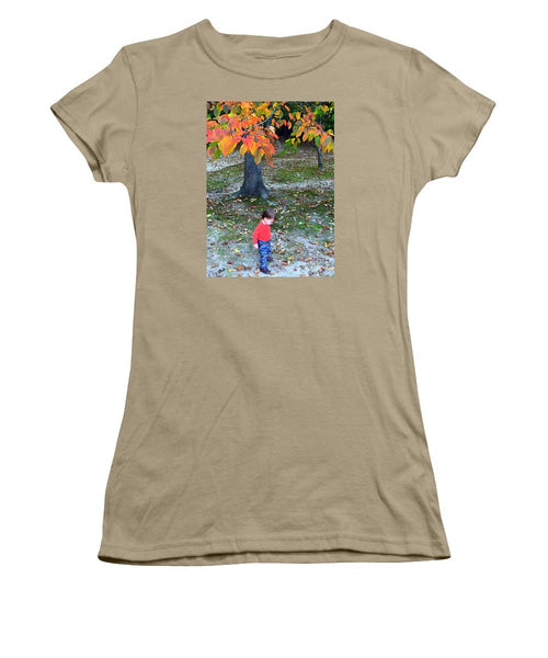 Women's T-Shirt (Junior Cut) - My First Walk In The Woods