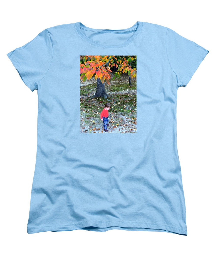Women's T-Shirt (Standard Cut) - My First Walk In The Woods