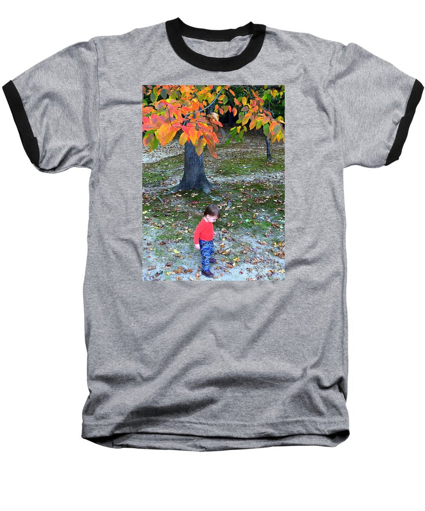 Baseball T-Shirt - My First Walk In The Woods