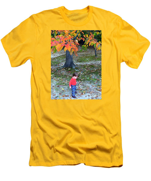 Men's T-Shirt (Slim Fit) - My First Walk In The Woods