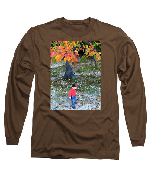 Long Sleeve T-Shirt - My First Walk In The Woods