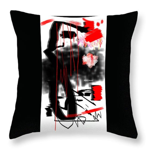My Mind After The Hurricane - Throw Pillow