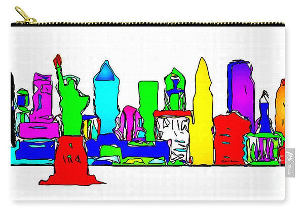 Carry-All Pouch - New York City - Pop Art
