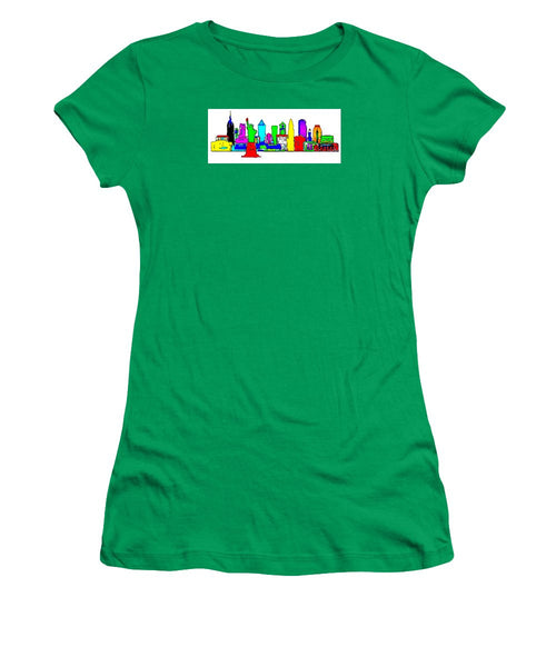 Women's T-Shirt (Junior Cut) - New York City - Pop Art