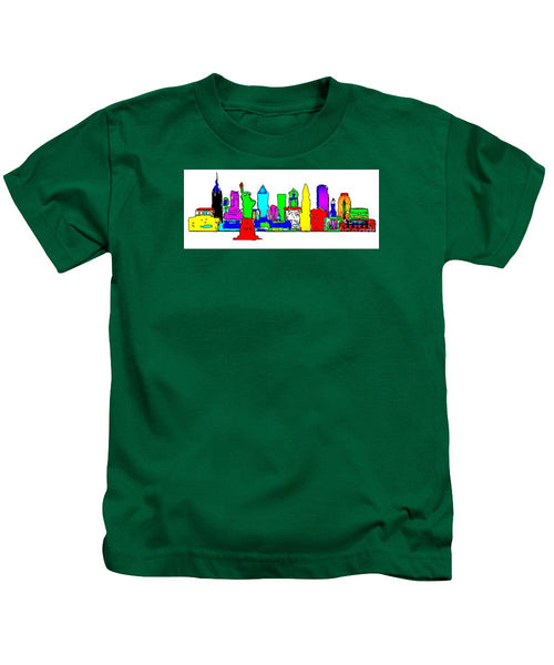 Kids T-Shirt - New York City - Pop Art