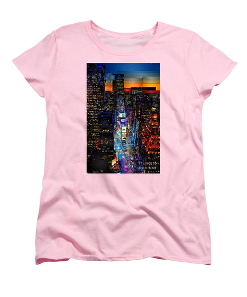 Women's T-Shirt (Standard Cut) - New York City - Times Square