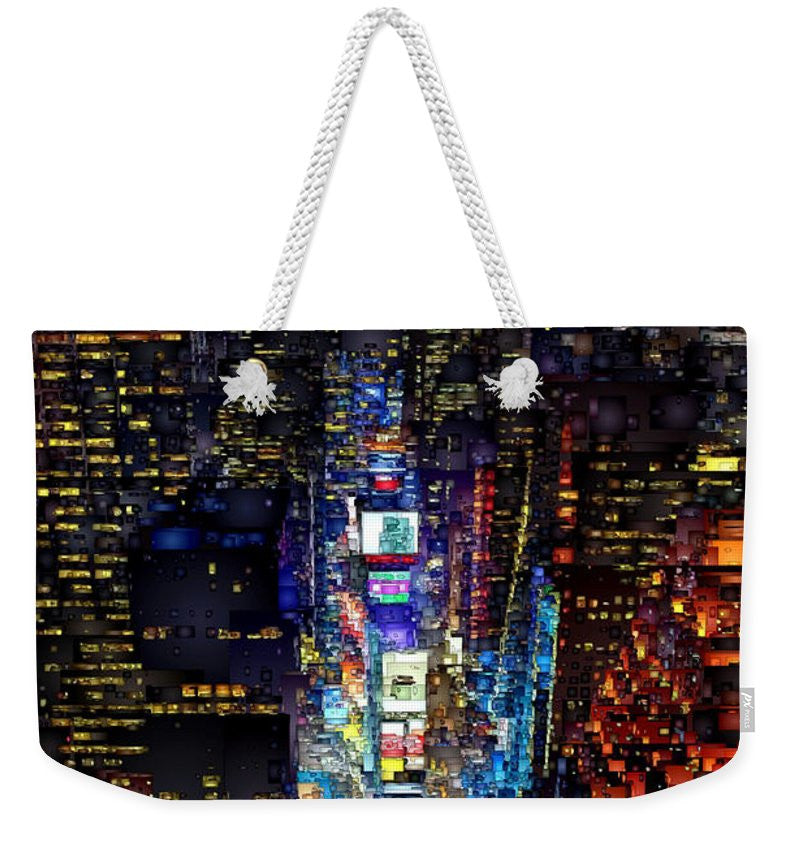 Weekender Tote Bag - New York City - Times Square