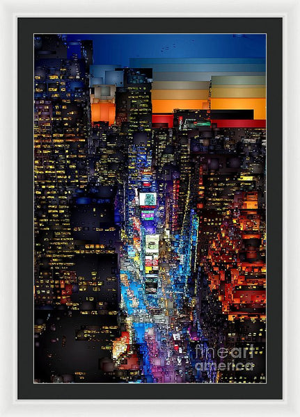 Framed Print - New York City - Times Square