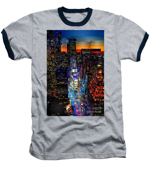 Baseball T-Shirt - New York City - Times Square