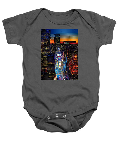 Baby Onesie - New York City - Times Square
