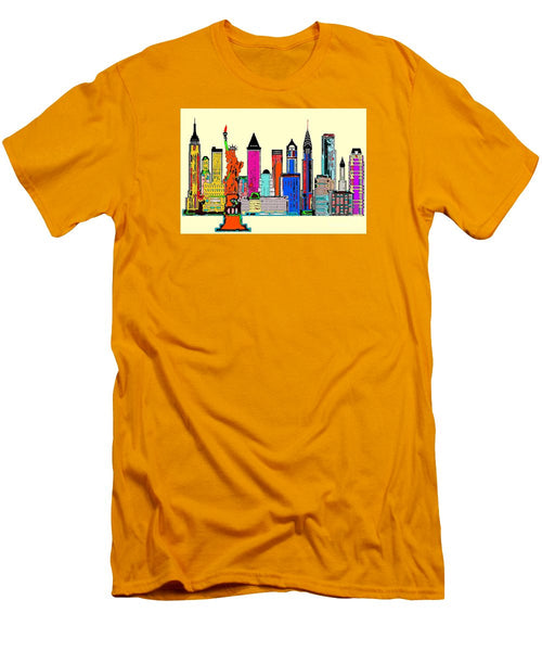 Men's T-Shirt (Slim Fit) - New York - The Big City