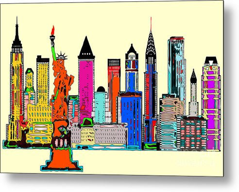 Metal Print - New York - The Big City