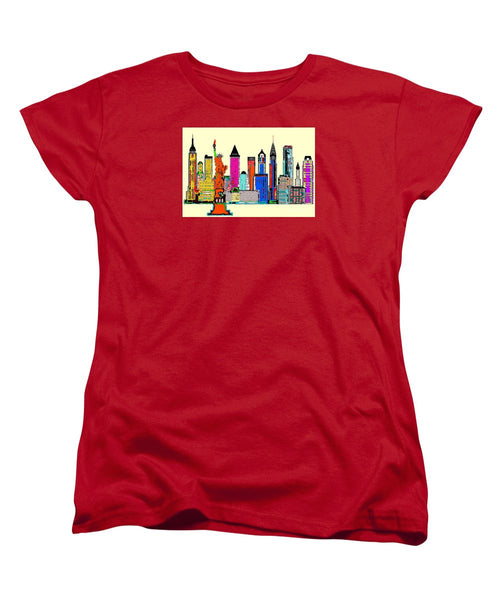 Women's T-Shirt (Standard Cut) - New York - The Big City