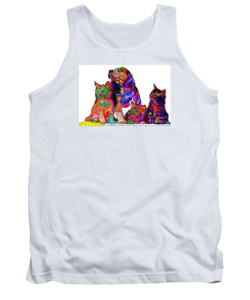 Tank Top - One Big Happy Family. Pet Series