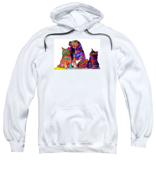 Sweatshirt - One Big Happy Family. Pet Series