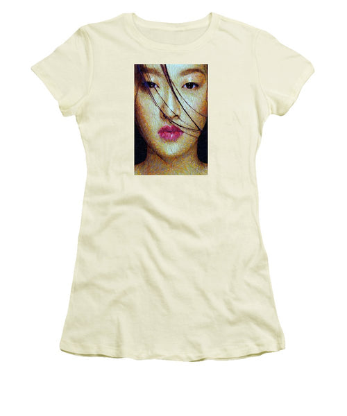 Women's T-Shirt (Junior Cut) - Oriental Expression 0701