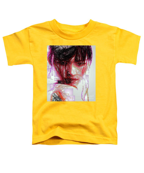 Toddler T-Shirt - Oriental Portrait