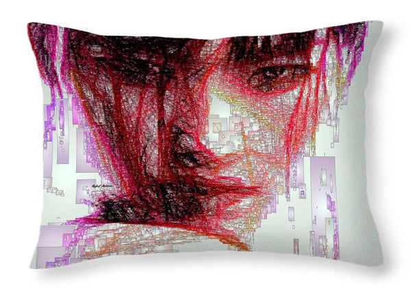 Throw Pillow - Oriental Portrait