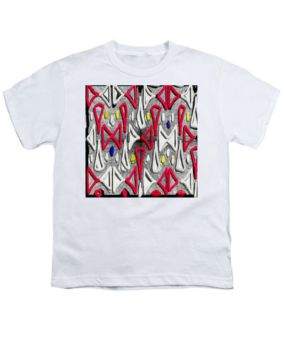 Painted Abstraction - Youth T-Shirt