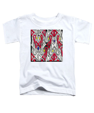 Painted Abstraction - Toddler T-Shirt