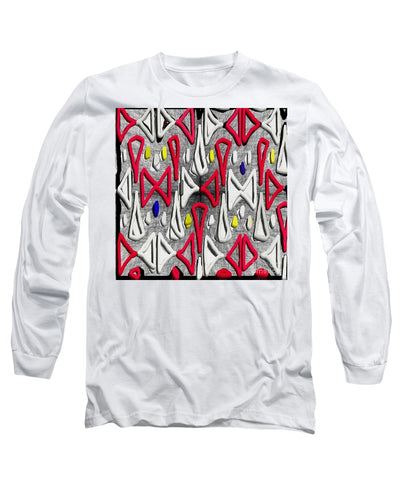 Painted Abstraction - Long Sleeve T-Shirt