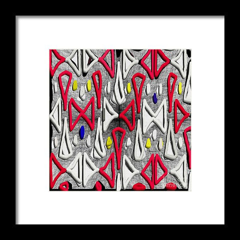 Painted Abstraction - Framed Print
