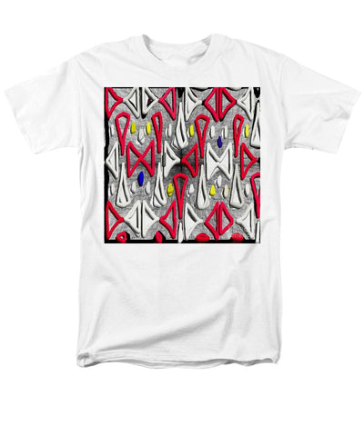 Painted Abstraction - Men's T-Shirt  (Regular Fit)