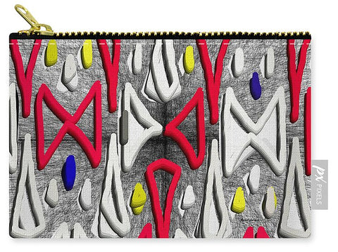 Painted Abstraction - Carry-All Pouch