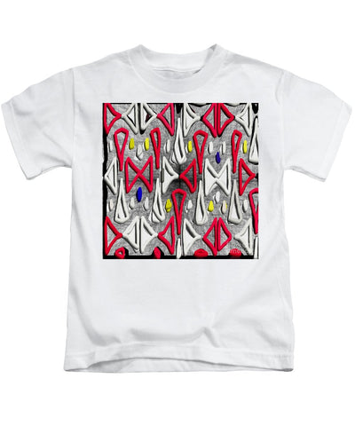 Painted Abstraction - Kids T-Shirt