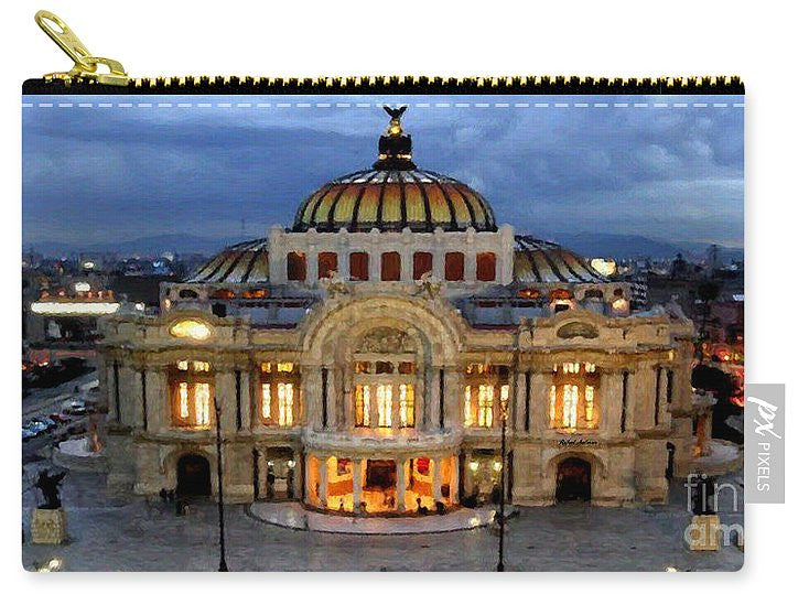 Carry-All Pouch - Palacio De Bellas Artes Mexico